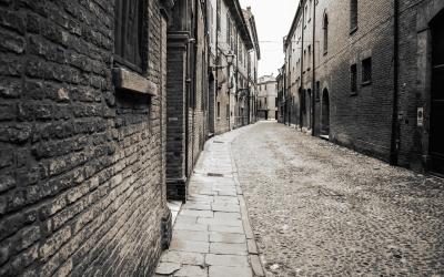 CityScape_Sidewalk_Alley_BW_Buildings_52729_detail_thumb