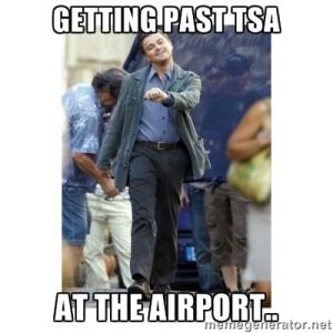 Getting past TSA
