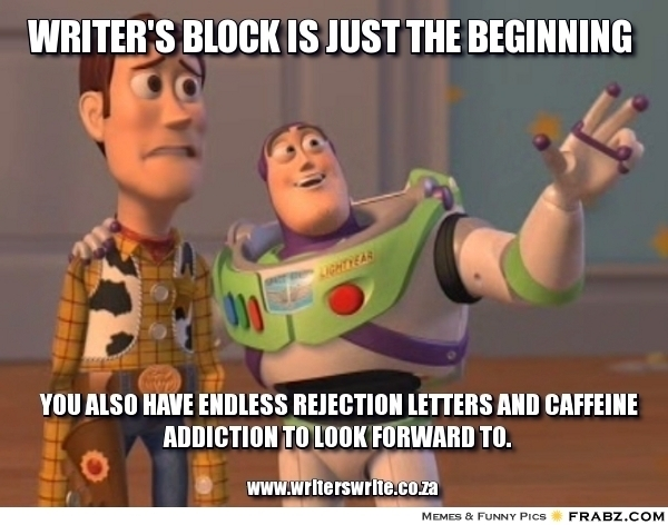 WriterMemeMonday: Rejection! | The Mom Who Runs:
