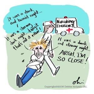 nanowrimo-ambulance