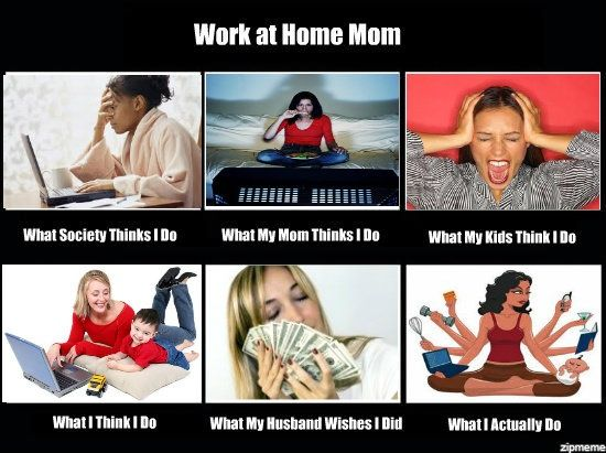 Writer Meme Monday: Working From Home With a Full House ...